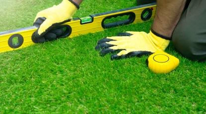 How to Lay Artificial Grass on Uneven Ground