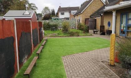 Landscape Lawn Installation in Gillingham, Kent
