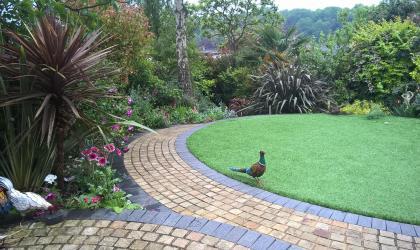 Luxury Lawn Installation in Rochester, Kent