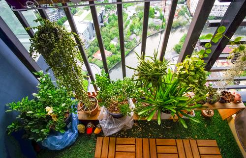 While Many Of Us Dream Of Having A Large Garden To Do With As We Please,  Sometimes We Have To Make Do With A Humble Balcony, But That Is Not To Say  ...