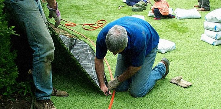 How To Lay Artificial Grass Artificial Lawn Company