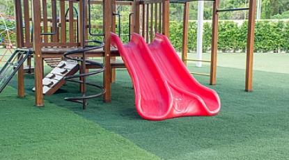 Keep the Playground Busy With Artificial Grass