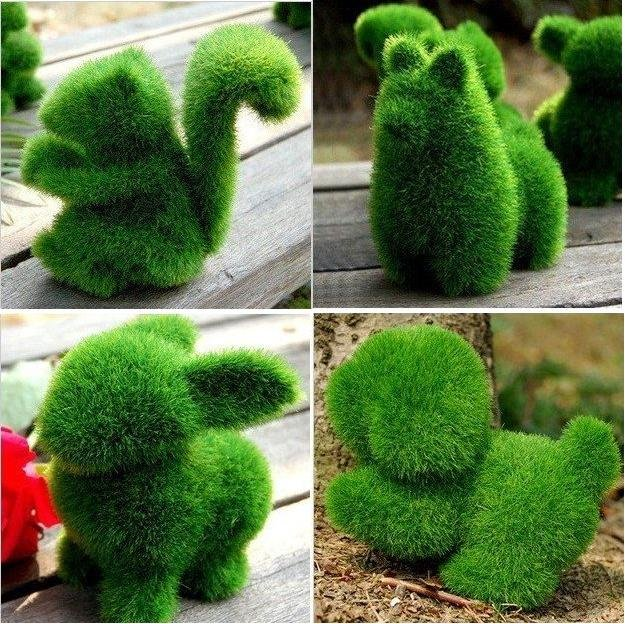Craft ideas for recycled artificial grass for Faux grass for crafts