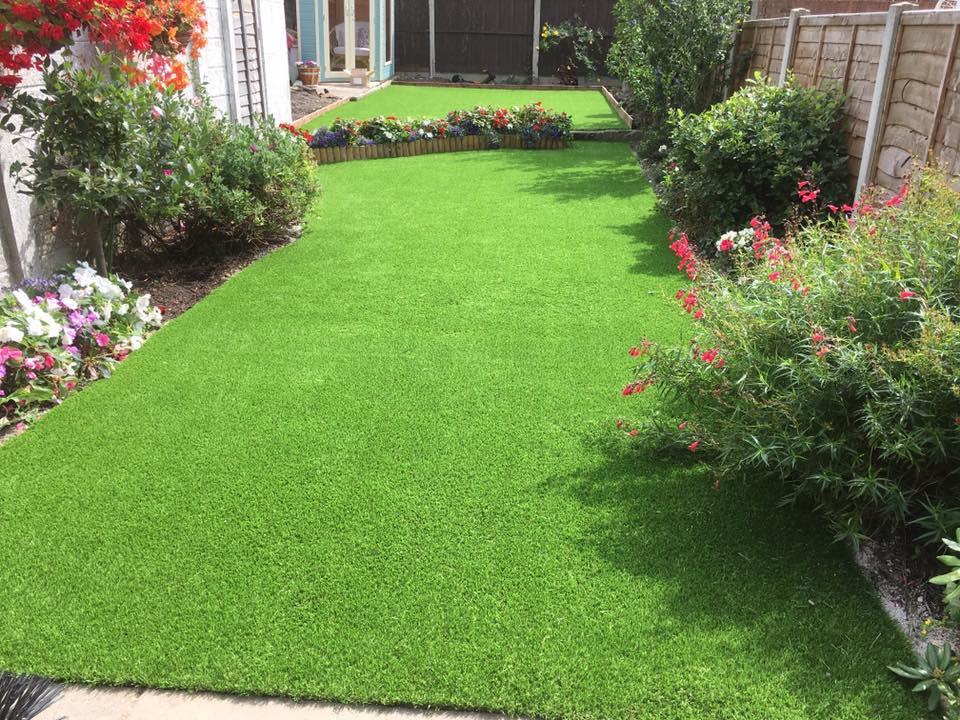 Residential Fake Lawns Garden Fake Grass Artificial
